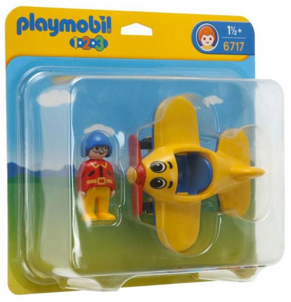 Playmobil avion baby 123