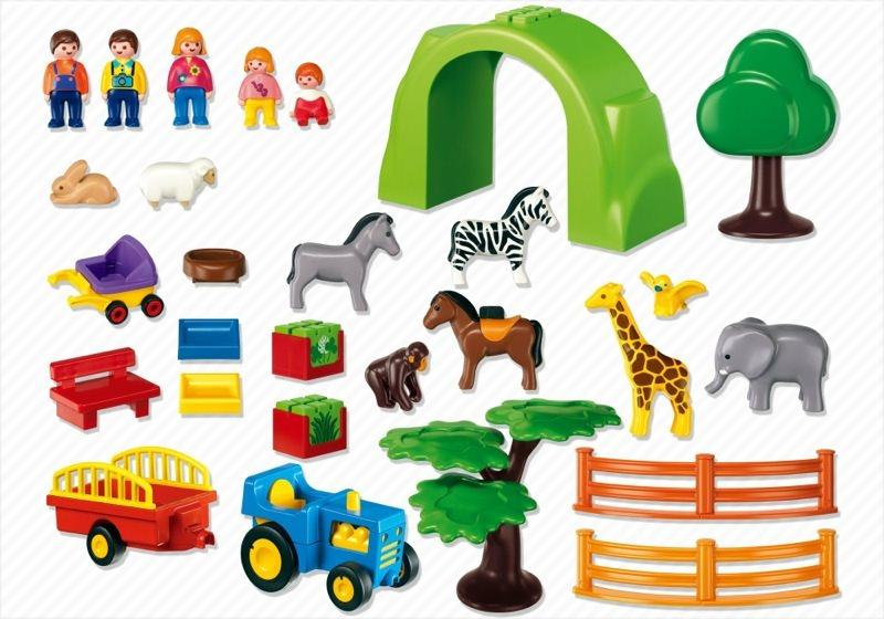 Playmobil large zoo 6754