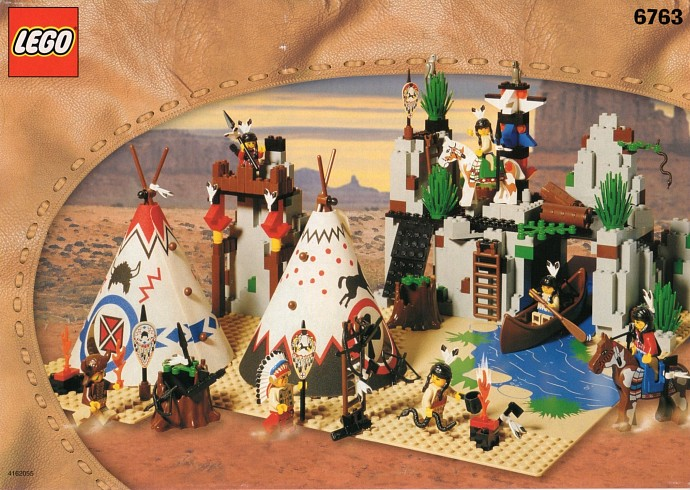 Lego indian teepee instructions