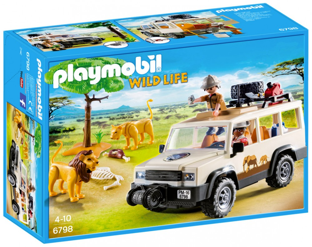 Playmobil safari pas cher