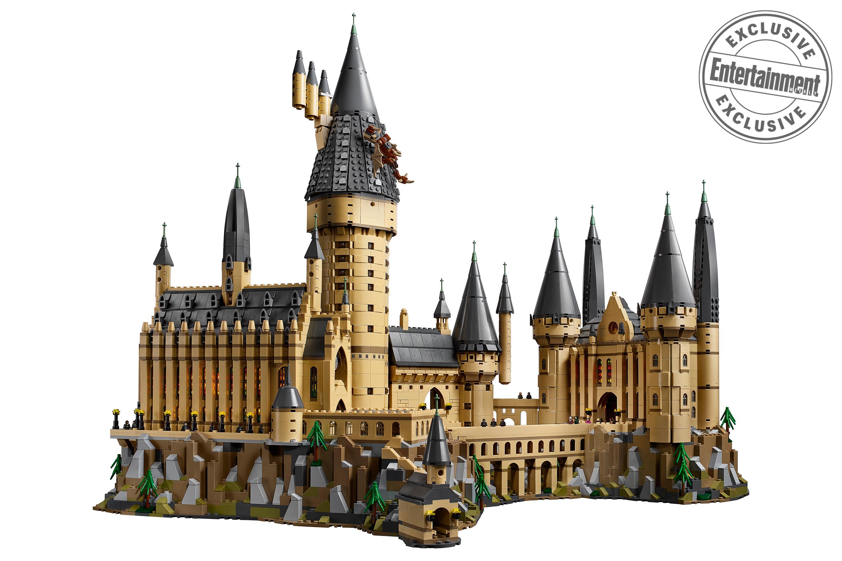 Lego harry potter 2018 hogwarts