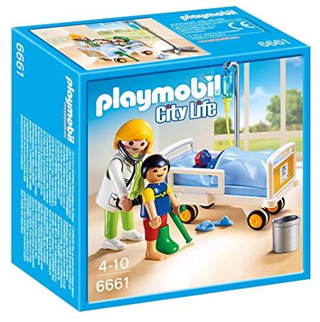 Playmobil docteur hôpital