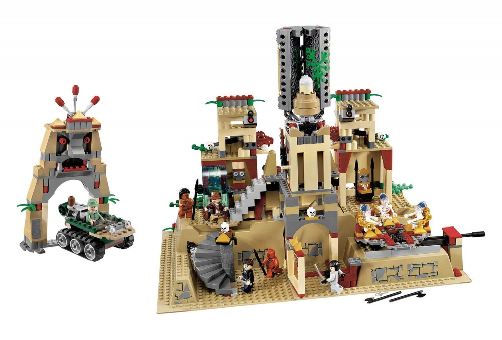 Lego Du Jones Indiana Temple Graal Le JFlc1TK