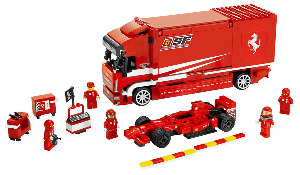 Lego ferrari team