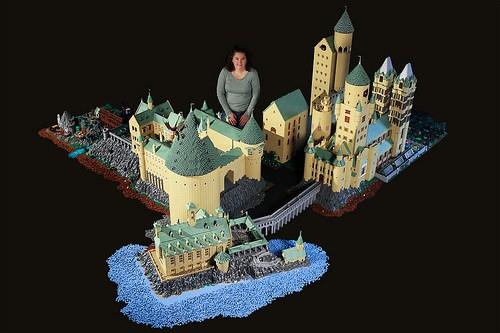 Lego hogwarts schloss