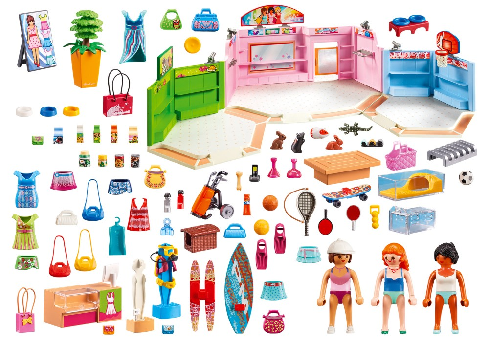 Playmobil city life galerie marchande