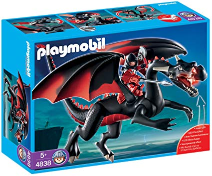 Playmobil guardians of the dragon fires