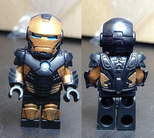 Lego iron man 3 custom minifigures