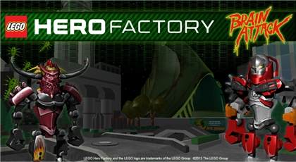 Create your own lego hero factory character game