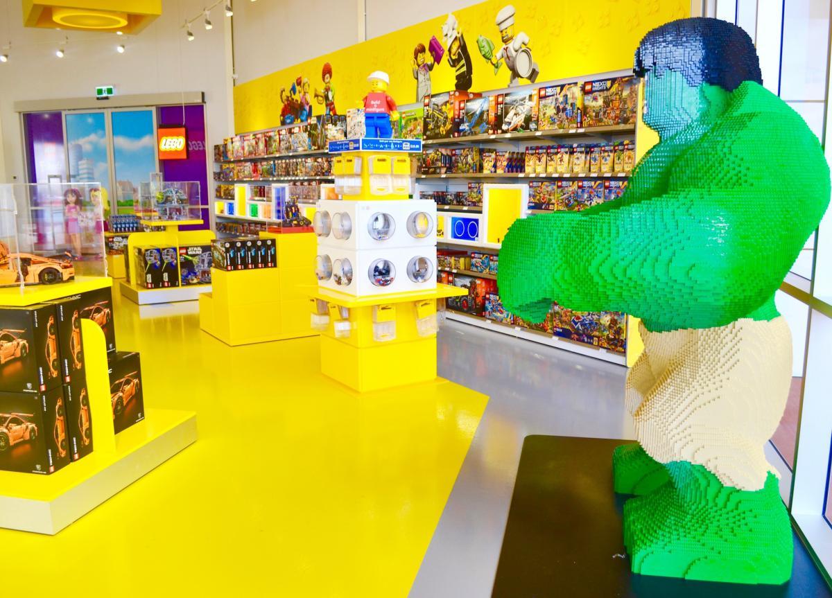 Lego hulk dreamworld