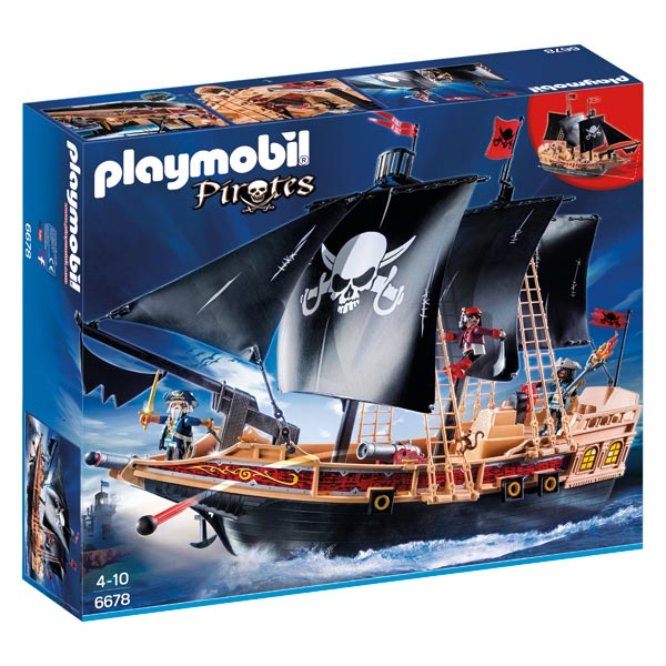 Playmobil pirate jeux video
