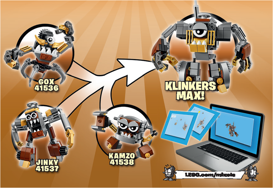 foto de Lego instructions klinkers max