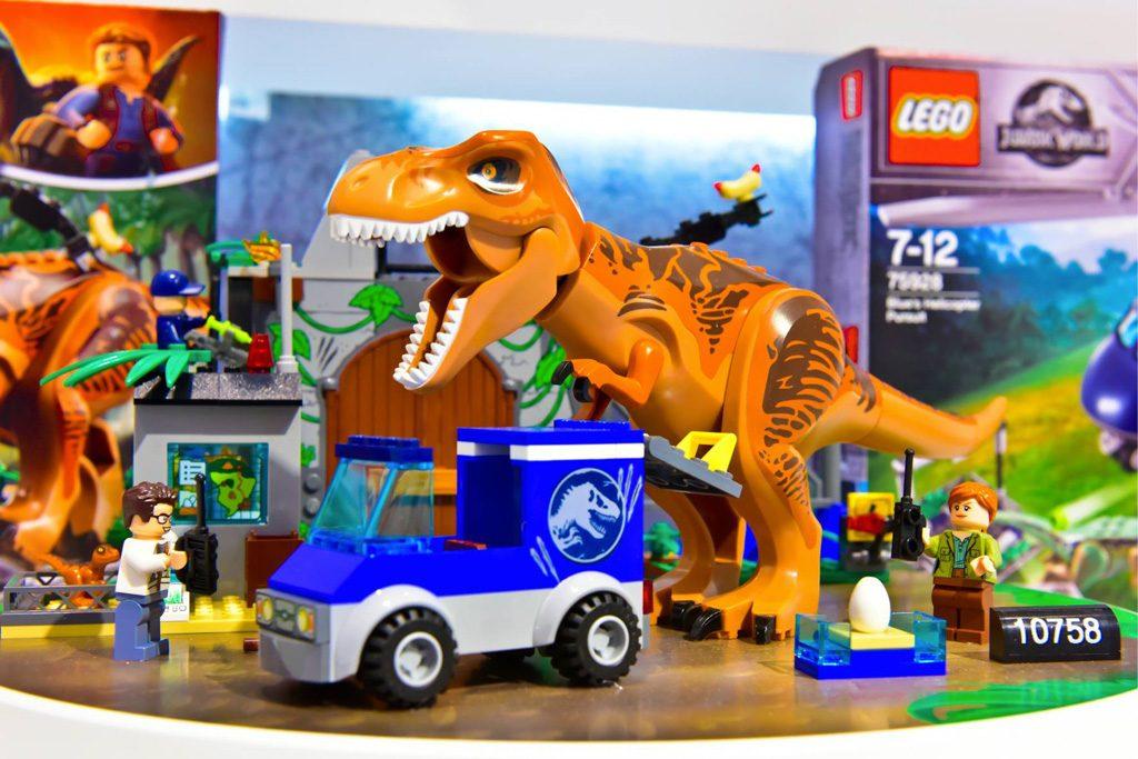 Lego jurassic world 2 dinosaurs