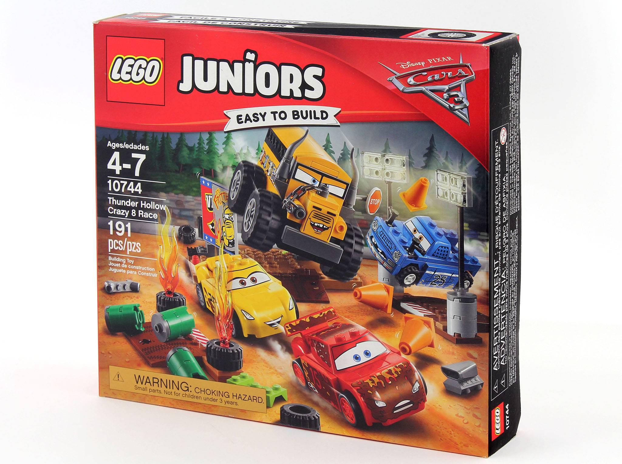 Lego junior voiture de course