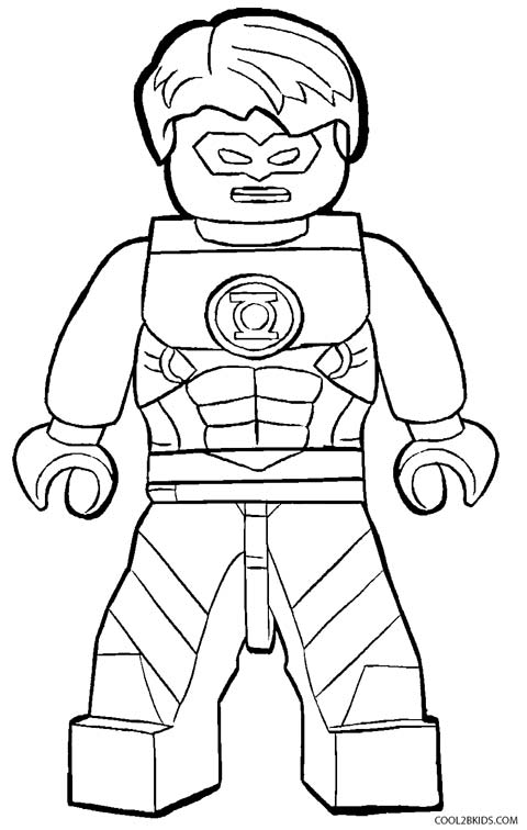 Lego flash coloring pictures - zagafrica.fr