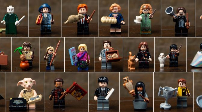 Liste figurine lego harry potter