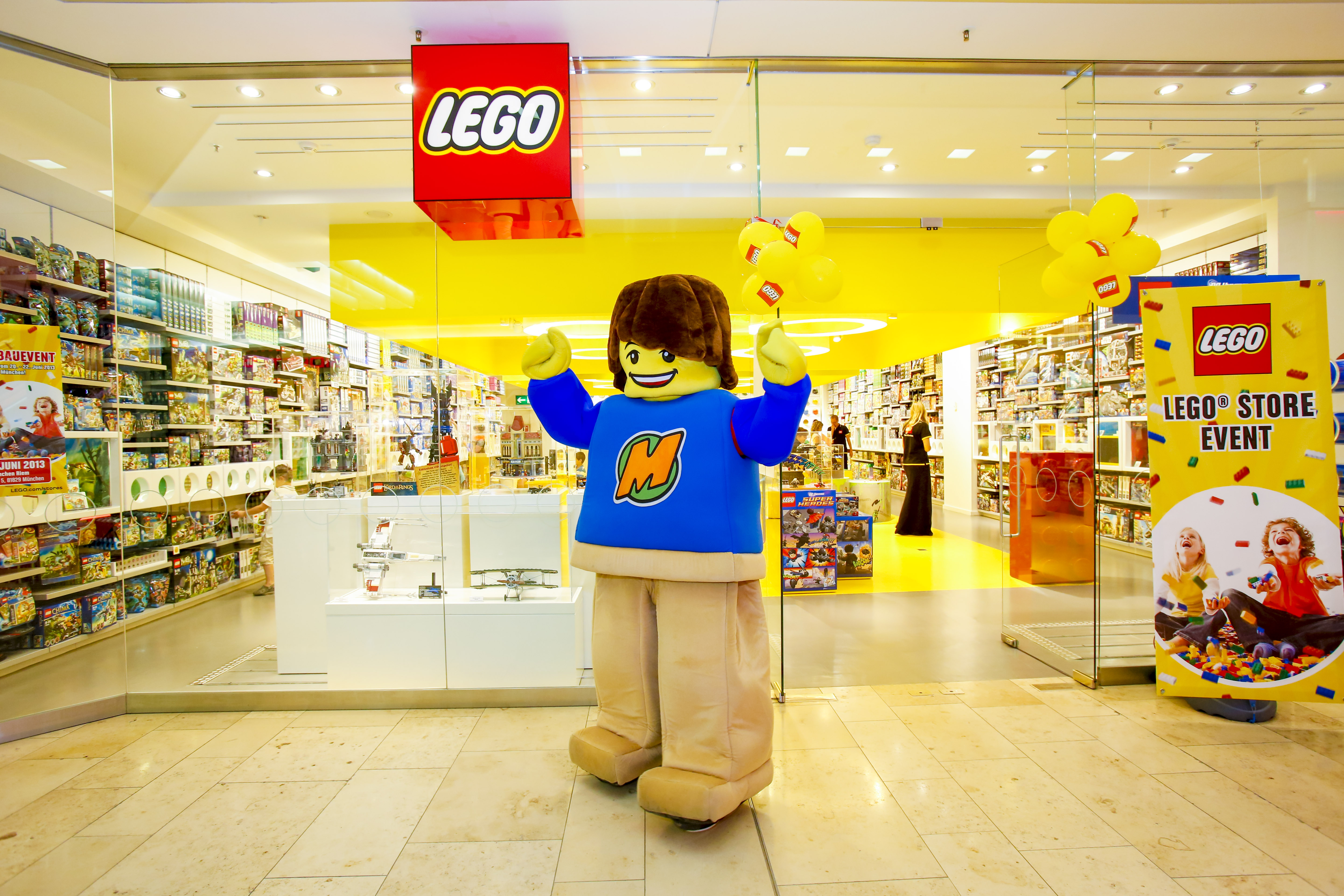 Lego stores in france
