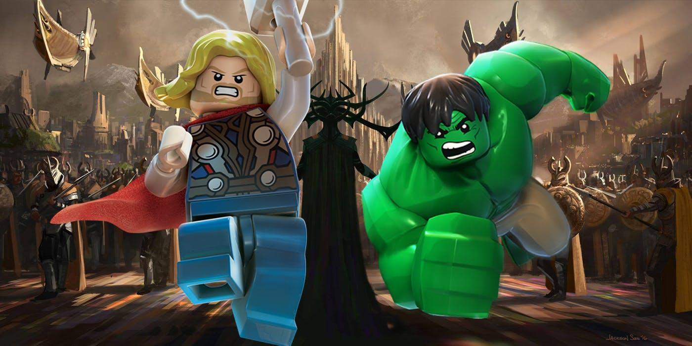 Lego hulk films
