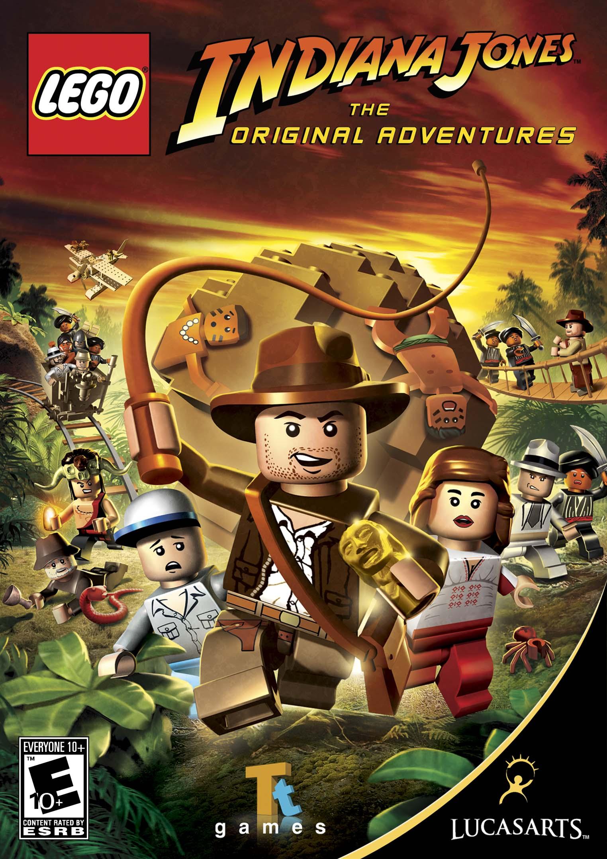 Lego indiana jones raiders of the lost brick
