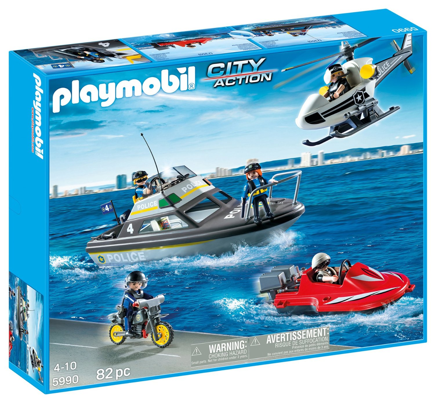 Playmobil action city
