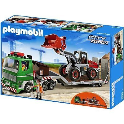 Playmobil city action baustelle