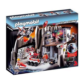 Jeux playmobil agent secret