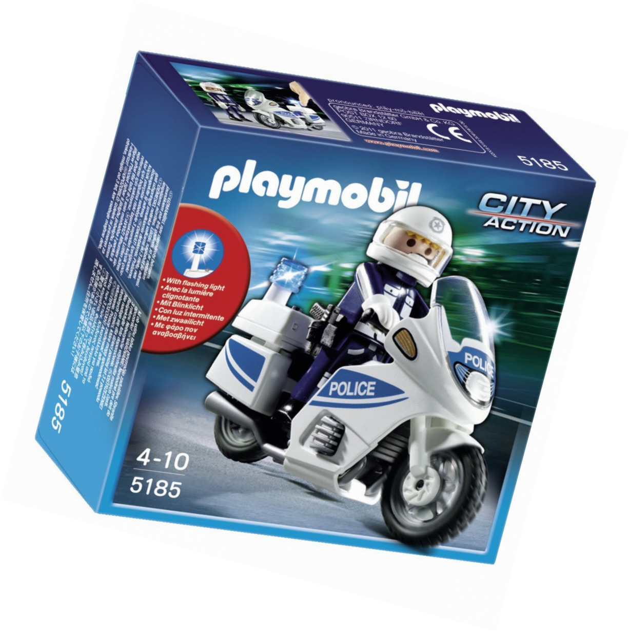 Playmobil city action motorbike