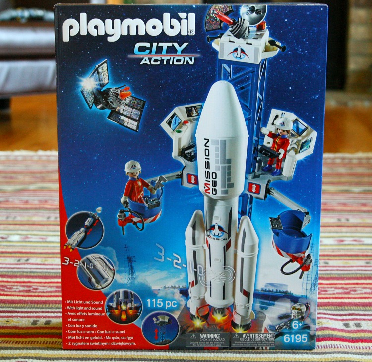 Playmobil city action mission geo