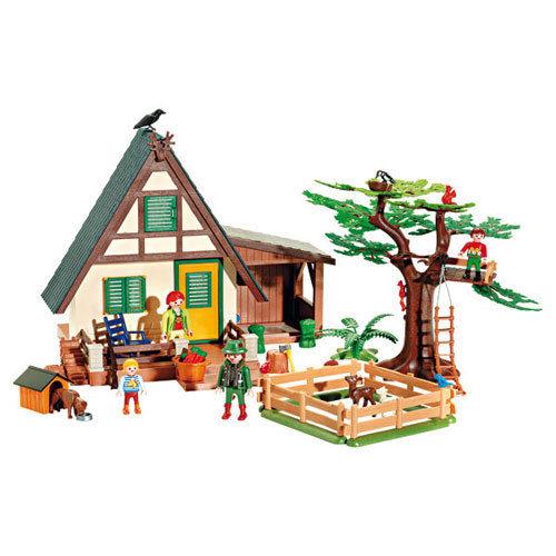 Playmobil maison forestière 4207