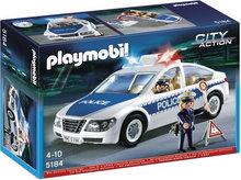 Playmobil city action policyjny jeep z motorówką 5187