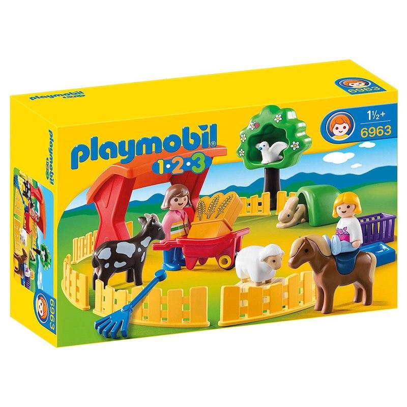 Zoo playmobil construction