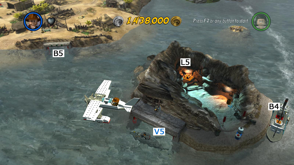 Lego indiana jones 2 walkthrough raiders of the lost ark