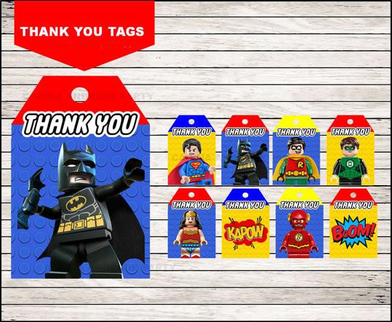 Lego thank you image