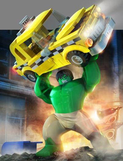Lego super heros hulk