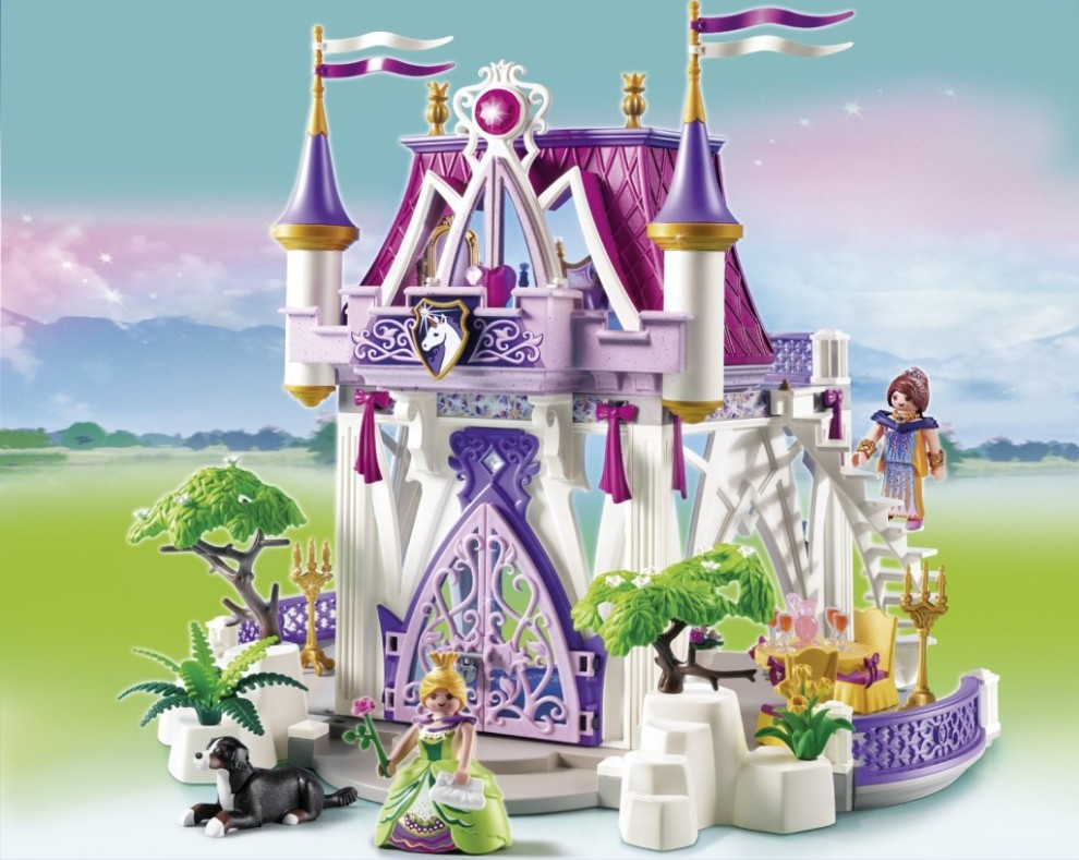 Playmobil unicorn castle