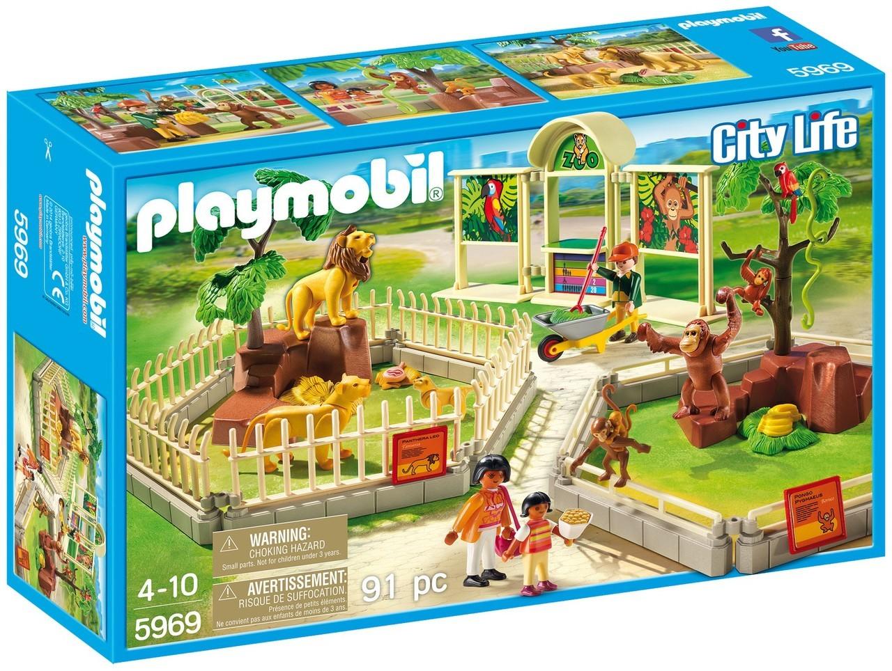 Playmobil dinosaur zoo