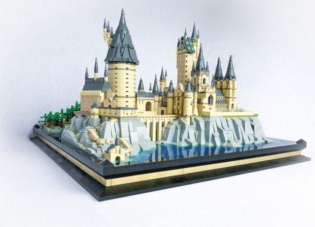 Lego hogwarts miniature