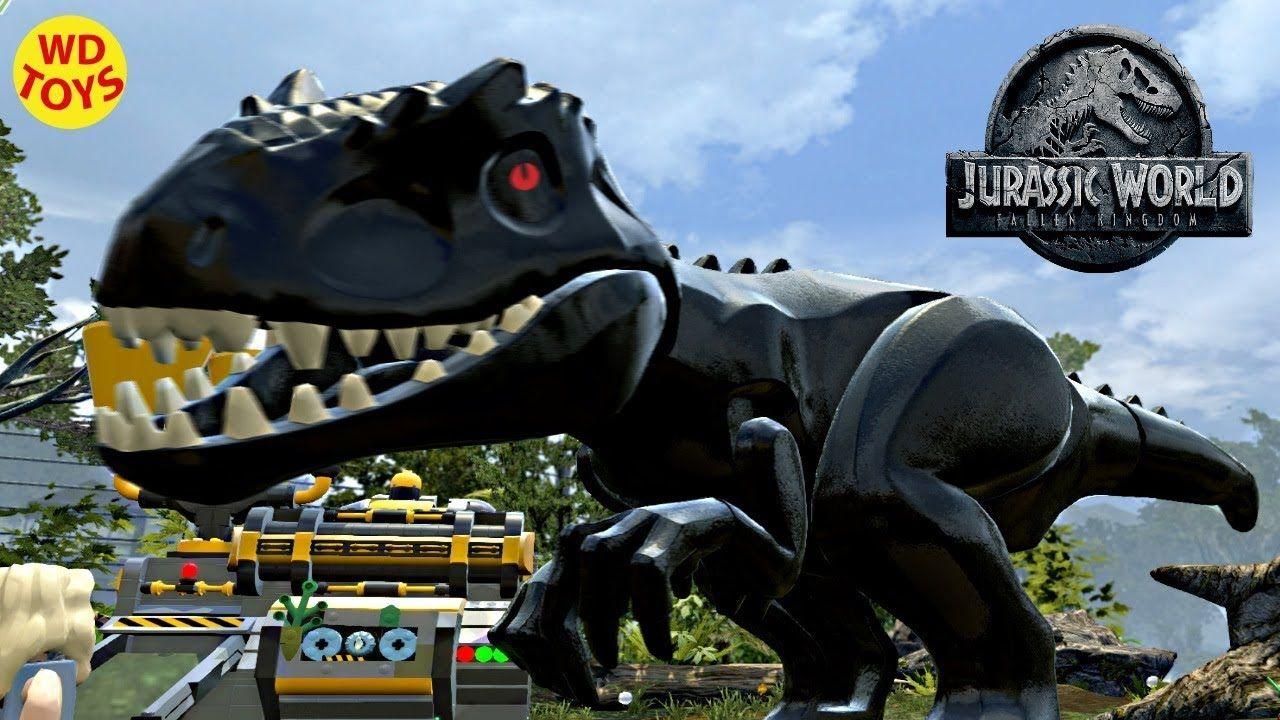 Lego jurassic world indominus rex custom