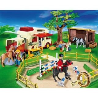 Playmobil camion chevaux