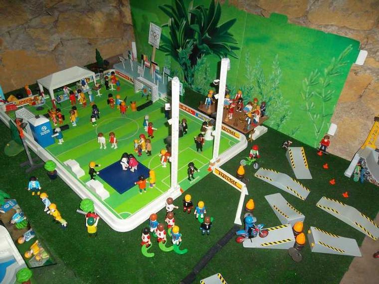Playmobil stade foot