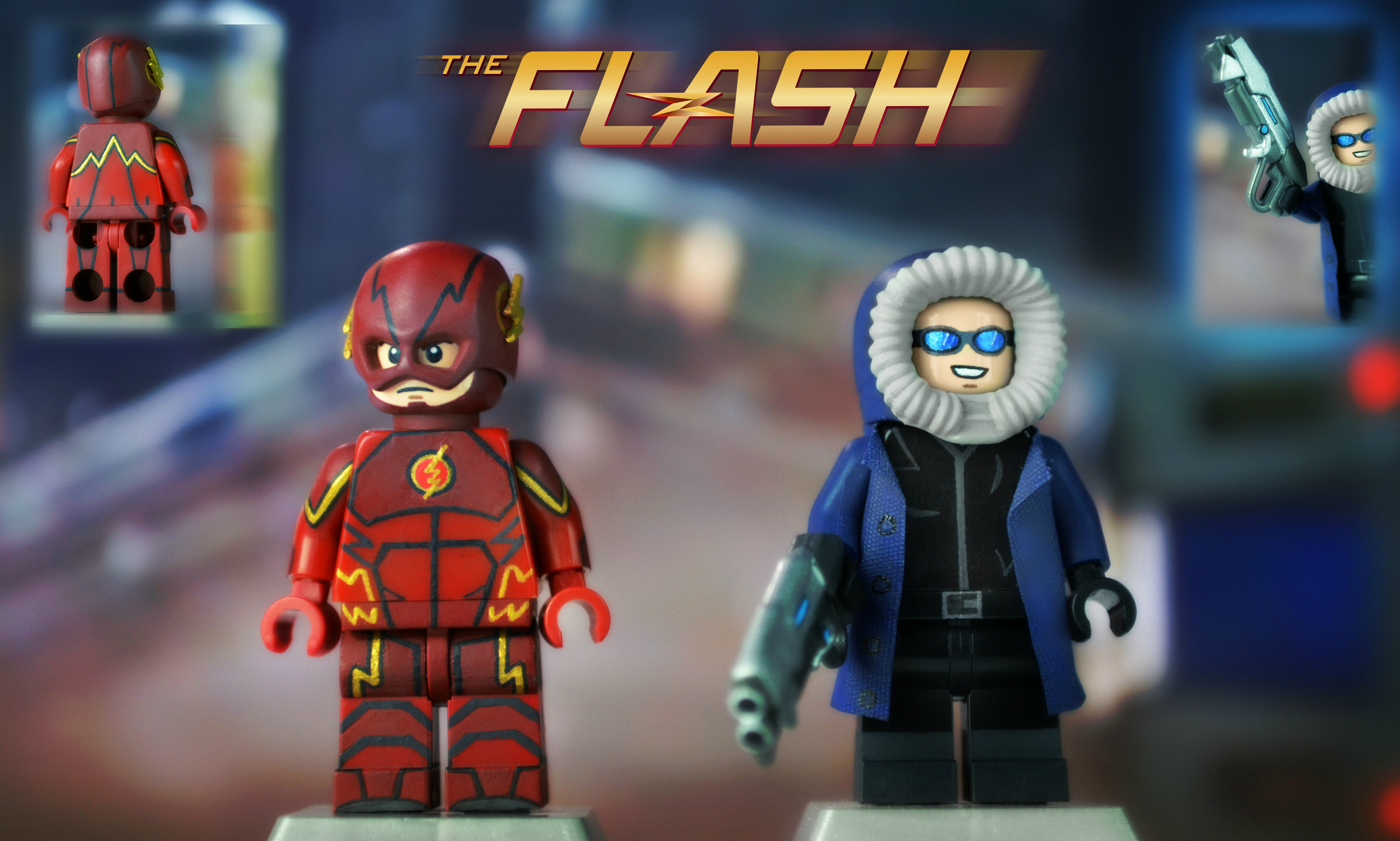 Lego flash jaune