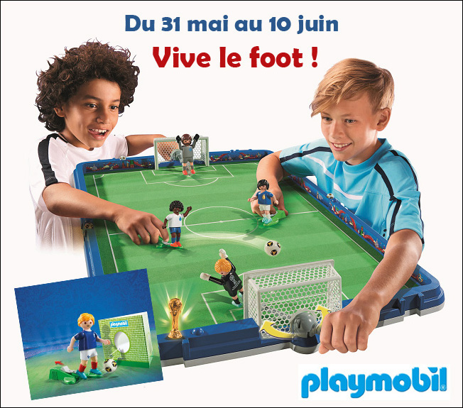 Playmobil foot concours