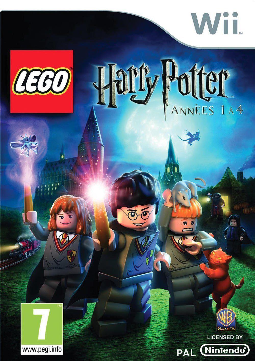 Jeux lego harry potter années 1 à 4