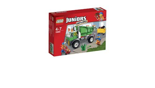 Lego junior vuilniswagen