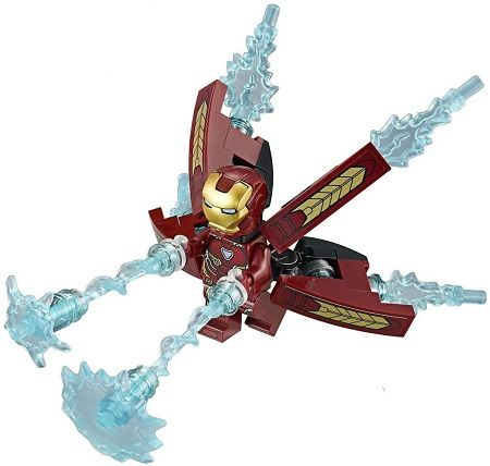Lego iron man thanos