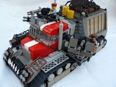 Lego house zombie attack