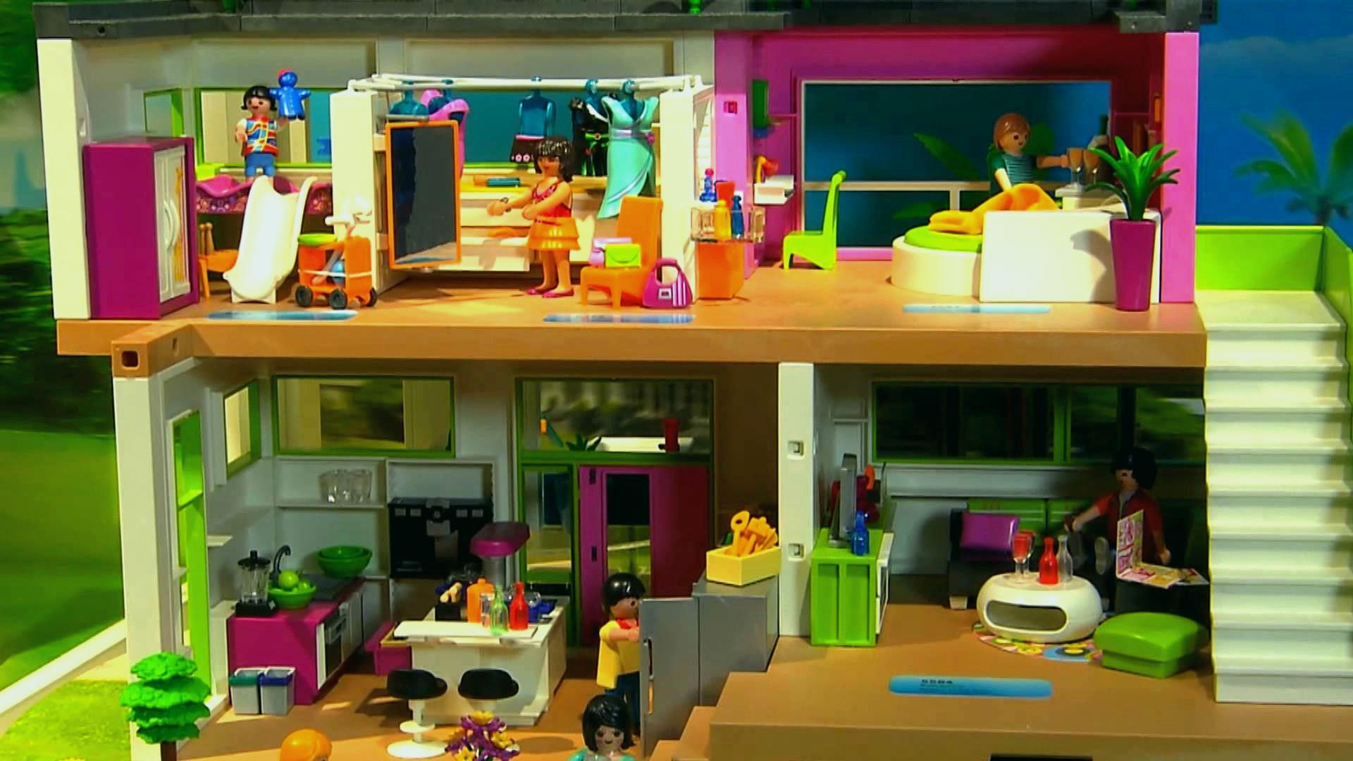 Elegant Histoire Playmobil Maison Moderne