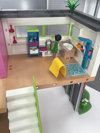 Maison Moderne Playmobil Avec Studio