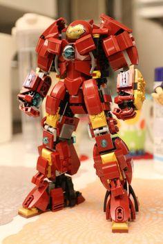 Lego iron man yt