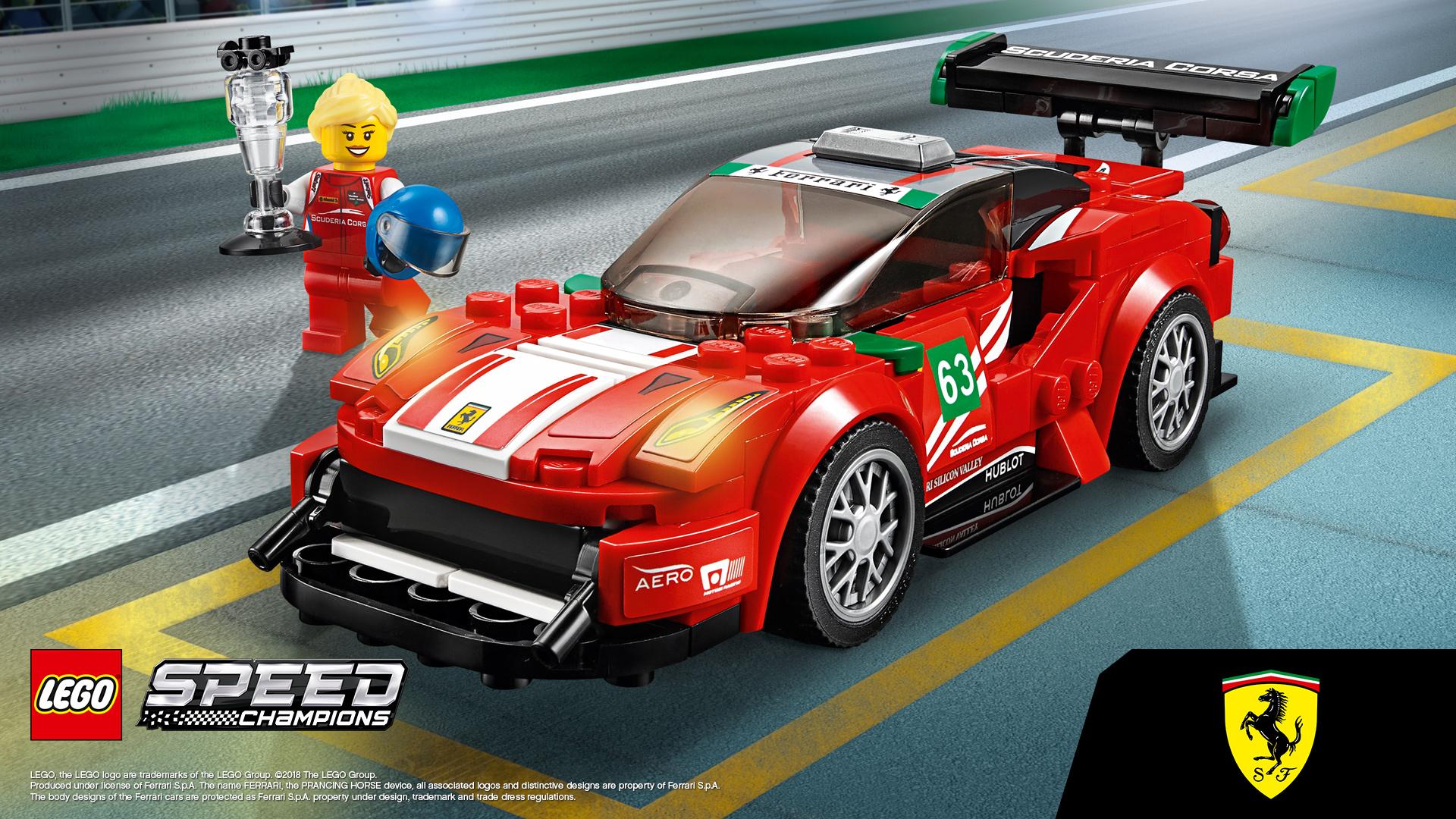 Lego ferrari gt3